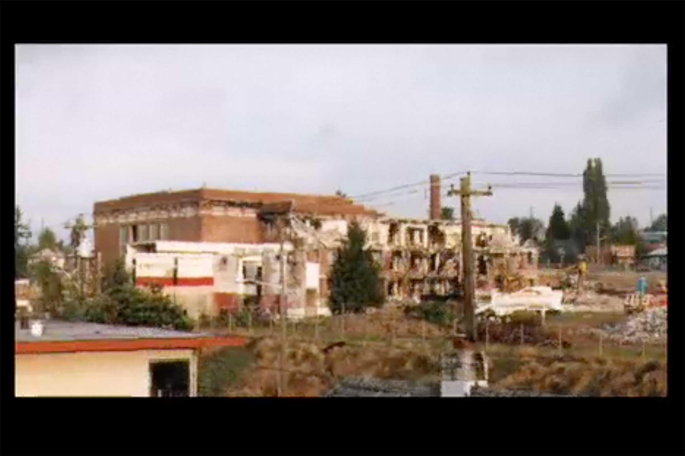 Ballard High School demolition and reconstruction.