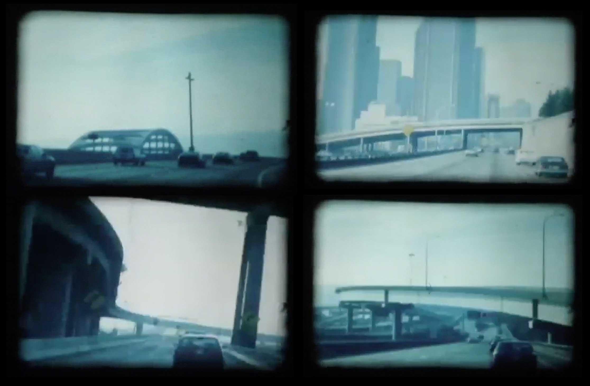 Freeways (four screen captures)