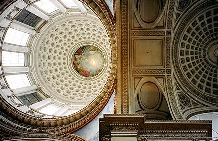Pantheon Ceiling, 35mm film, 2006